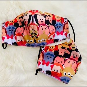 Cute Tsum Tsums Breathable Kid's Face Mask